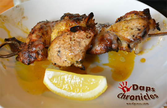 Inasal Chicken Wings (P165)